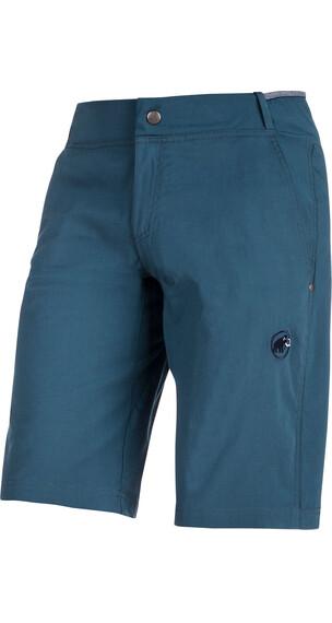 Mammut Alnasca - Pantalones cortos Hombre - Azul petróleo